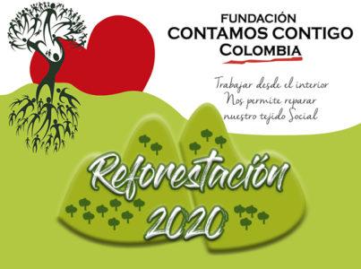Campaña de reforestación 2020 para Bogotá, Colombia